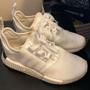 Adidas NMD R1 triple white color boost